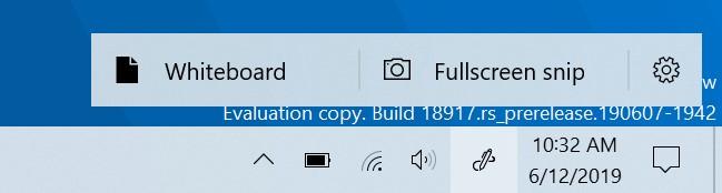 Windows 10 18917 Windows Ink Workspace Updates