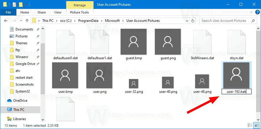Windows 10 Remove User Picture Login Screen 1