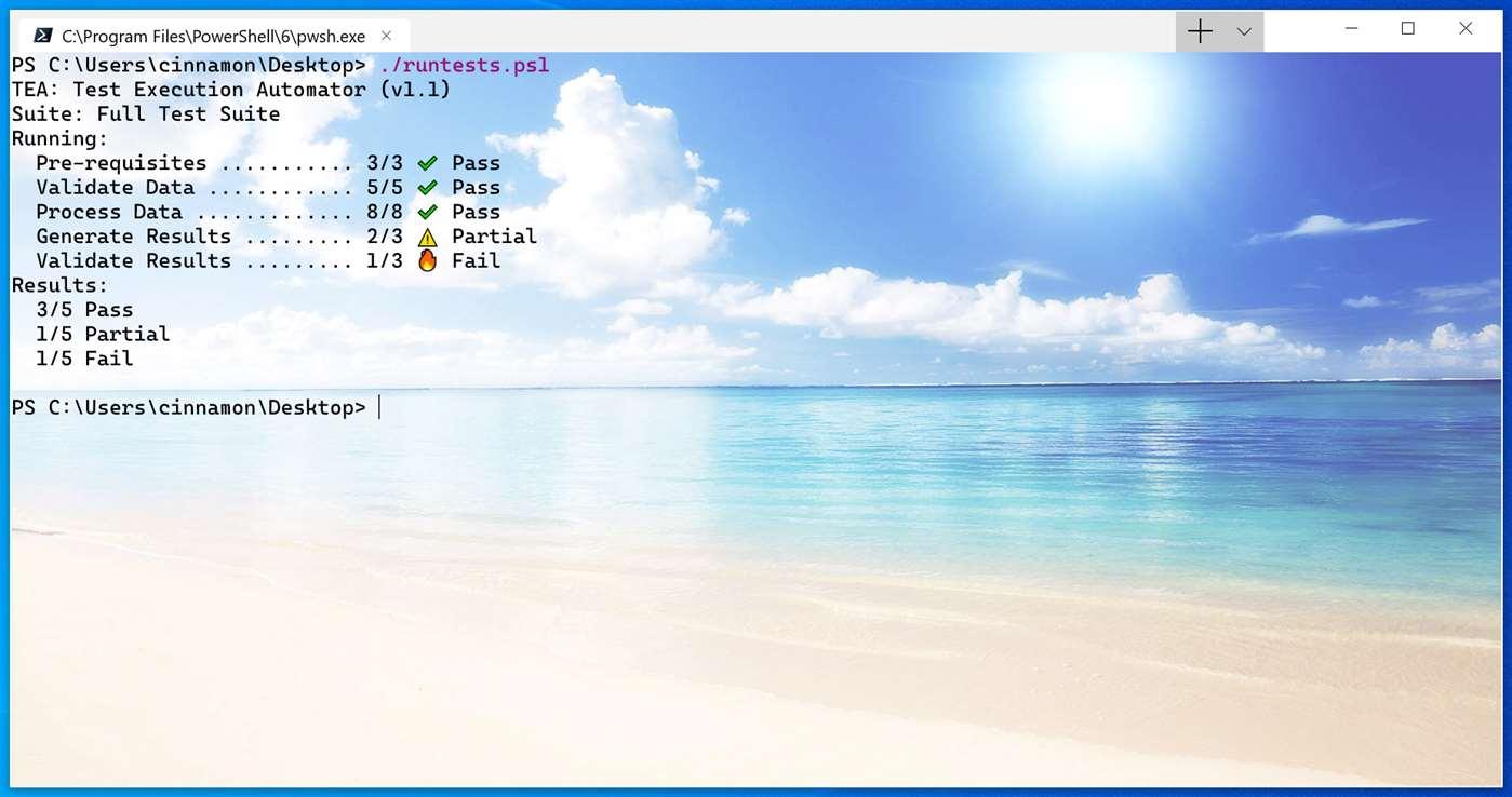 Windows Terminal Preview Screenshot 1