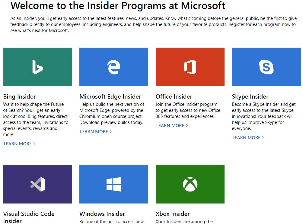 Microsoft Insider Hub