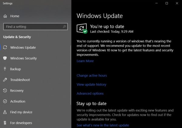 Windows 10 Update Reminder 598x420