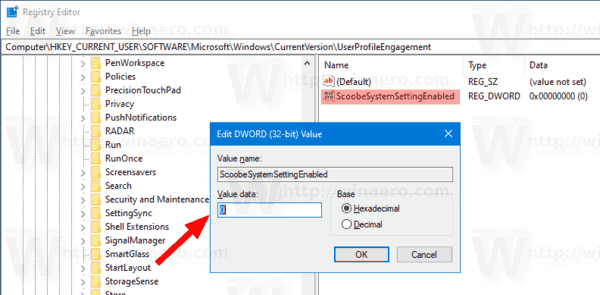 Disable Get Even More Out Of Windows With Tweak