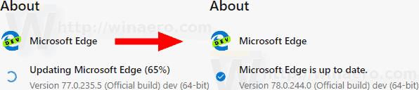Microsoft Edge Dev 78 0 244 0
