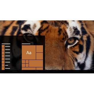 Tigers theme for Windows 10, 8, and 7