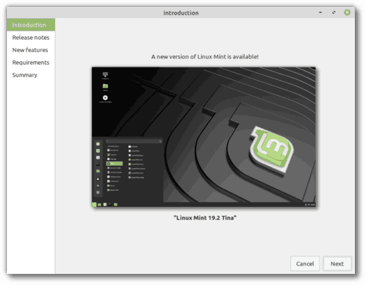 Upgrade To Linux Mint 192 Gui