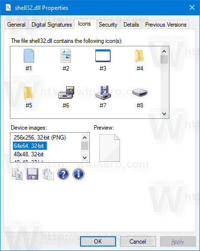 Extract Icon from EXE or DLL File in Windows 10