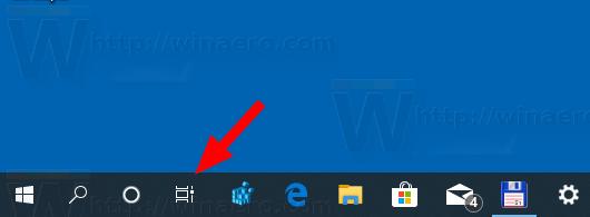 Windows 10 Task View Button