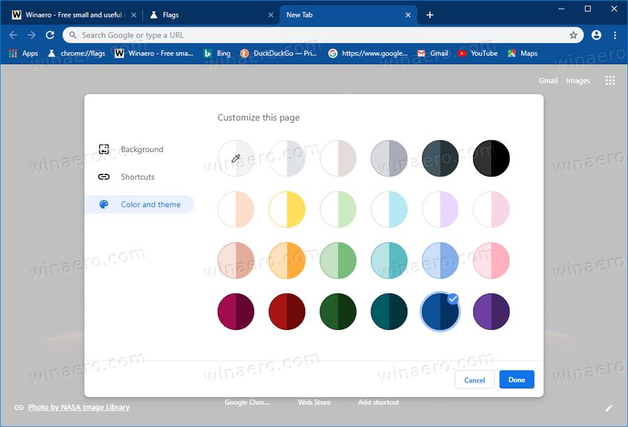 Chrome Customize Browser 1
