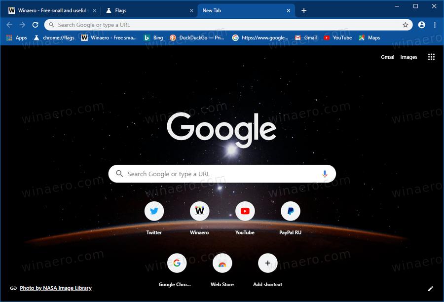 Chrome Customize Browser 2