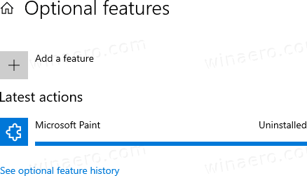 Windows 10 Paint Is Uninstalled