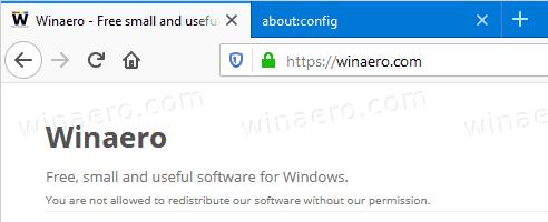Firefox 70 Green Https Indicator Restored