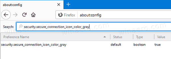 Firefox Security.secure Connection Icon Color Gray