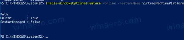 Windows 10 Enable Virtualization Platform