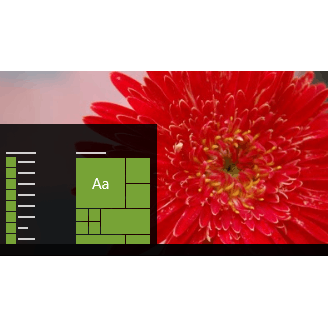 Flora 4 theme for Windows 10, 8 and 7