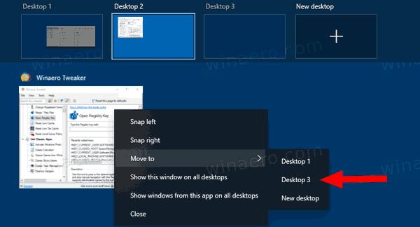 Cách Chuyển Các Cửa Sổ Sang Một Màn Hình Ảo Khác Trong Windows 10 - VERA STAR