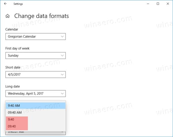 Windows 10 Taskbar Clock 24 Hour Format Settings