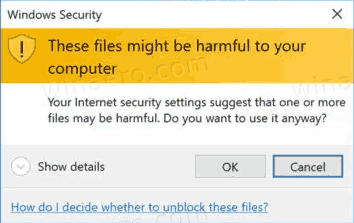 Windows 10 These Files Might Be Harmful To Your Computer