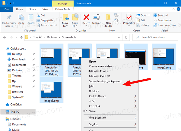 Windows 10 Remove Print Context Menu Command