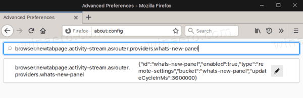 Firefox 72 Disable Gift Box What's New 1