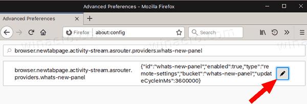Firefox 72 Disable Gift Box What's New 2