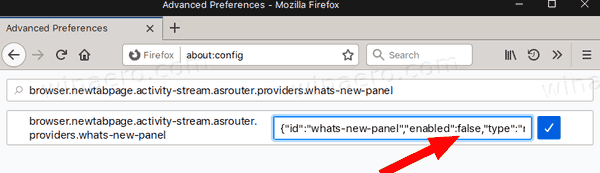 Firefox 72 Disable Gift Box What's New 3