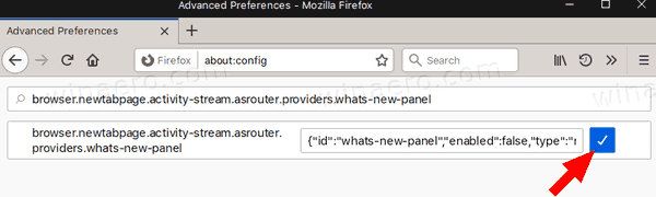 Firefox 72 Disable Gift Box What's New 4