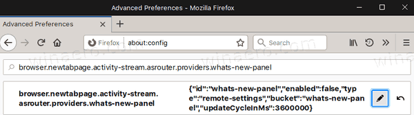 Firefox 72 Disable Gift Box What's New 5