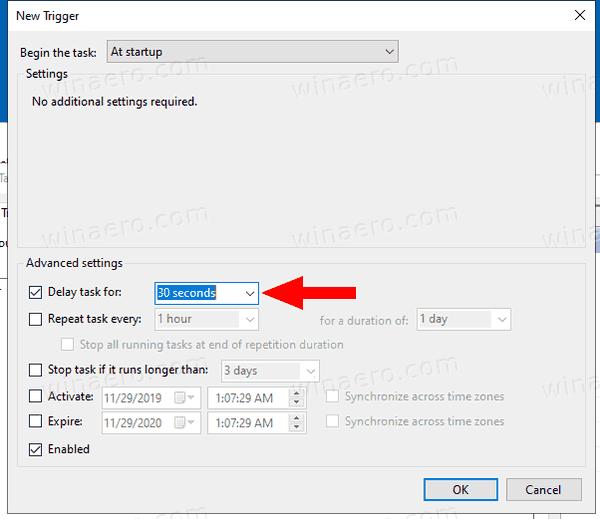 Windows 10 Automount VHD Task Trigger 2