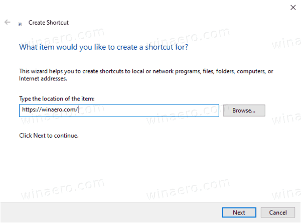 Add Site To Apps In Windows 10 Start Menu