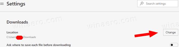 Edge Change Downloads Folder 1