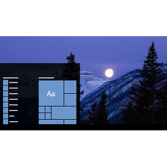 Moonlight Theme for Windows 10, Windows 8 and Windows 7