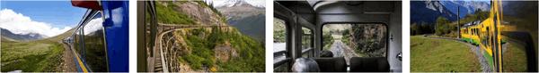 Panoramic Train Views Premium Stripe