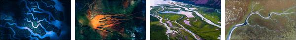 River Deltas Stripe