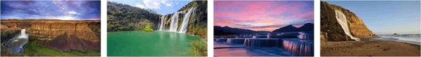 Stunning Waterfalls PREMIUM Stripe