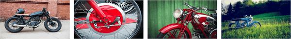 Vintage Motorcycles PREMIUM Stripe