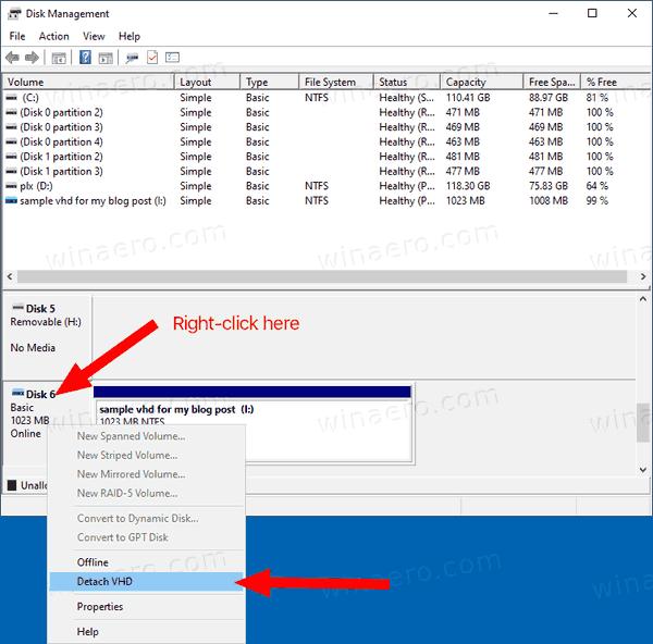 Windows 10 Deatch VHD