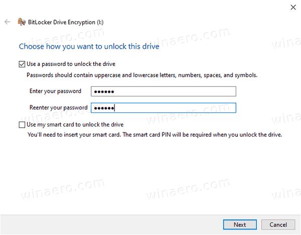 Windows 10 Encrypt VHD Wizard 1