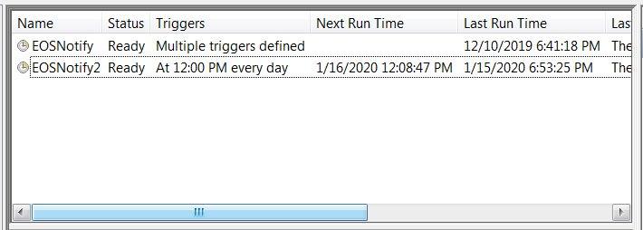 Windows 7 Scheduled Tasks