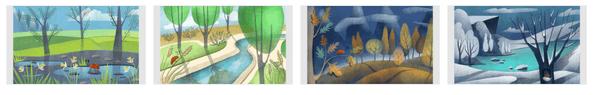 Seasonal Art Themepack Stripe