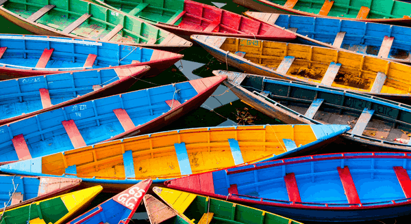 Colorful Boats PREMIUM