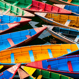 Download Colorful Boats PREMIUM 4K Theme from Microsoft Store