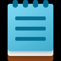 Windows 10X Colorful Notepad Fluent Icon