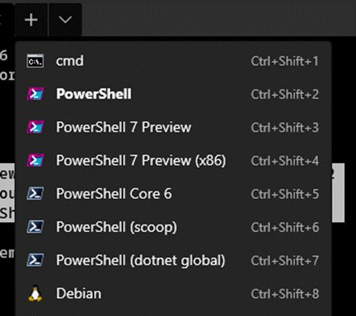 Terminal 0.9 Powershell Auto Detect