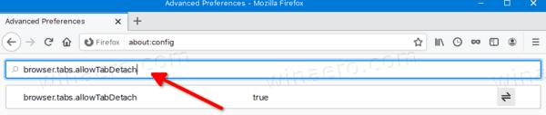 Firefox Disable Detachable Tabs 1