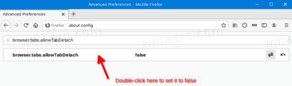 Firefox Disable Detachable Tabs 2