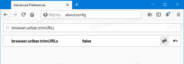 Firefox Restore Classic Address Bar Suggestions