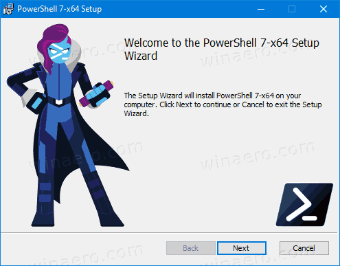 PowerShell Installer 1