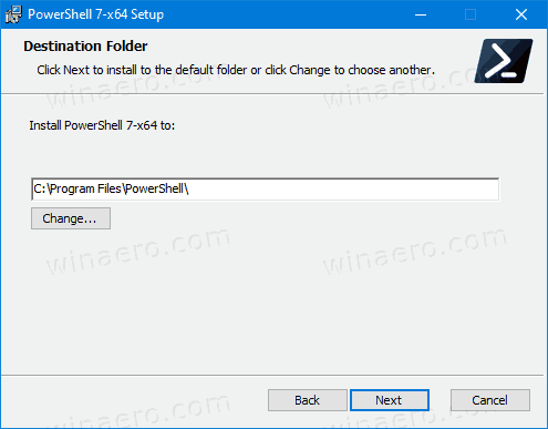 PowerShell Installer 2