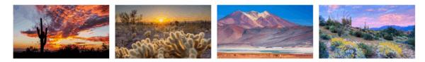 Desert Beauty PREMIUM Themepack Stripe