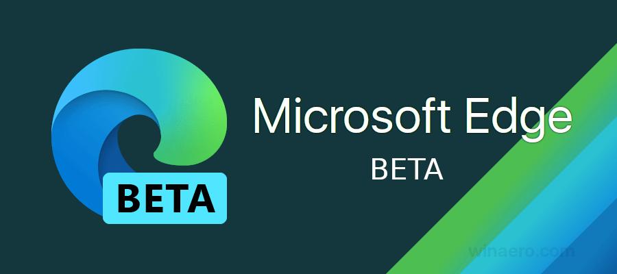 Edge Beta Banner